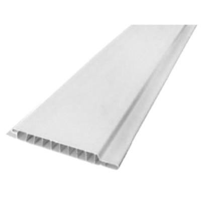 Вагонка белая ПВХ толщина 10мм длина 3м.