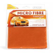 "Микрофибра 34*34см ""Azard"" GlassClean (для мойки и сушки, AMF-04)"