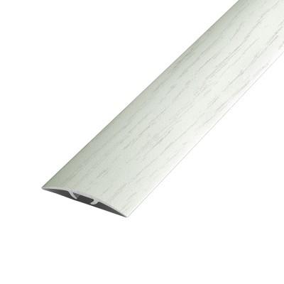 Порог В4-41мм алюмниевый Береза №174 длины 0,9м,скрытый крепеж