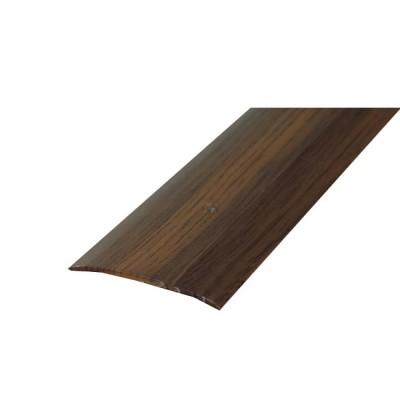 Порог АЛ-125 стык/упак/дуб темный 1,35 м