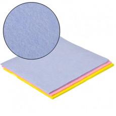 Набор салфеток, нетканый материал, 3шт, многофункциональных, 33x38см, 3 цвета VETTA