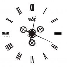 """Часы настенные """"Рим"""" черные"""