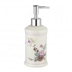 Дозатор для жидкого мыла настольный керамика, Butterfly