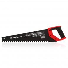 Ножовка по пенобетону,700 мм, защитное покрытие,твердосплавные напайки на зубьях, 2-х комп.рукоятка 23382