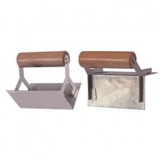 Кельма стальная для внутренних углов 80*60мм 1409001