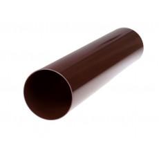 Труба водосточная коричневая ПВХ 3м