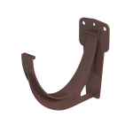 Кронштейн желоба коричневый ПВХ