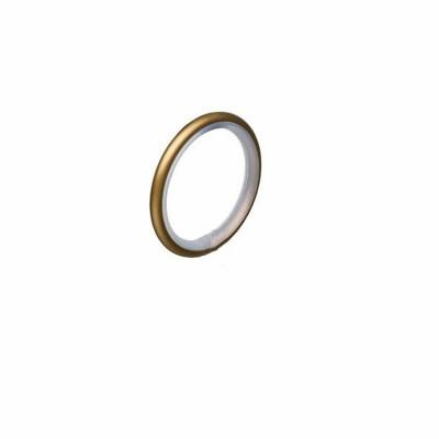 Кольцо 16мм Золото глянец