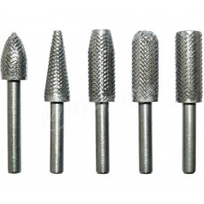 Набор шарошек по металлу HCS d-6 мм  L-60 мм