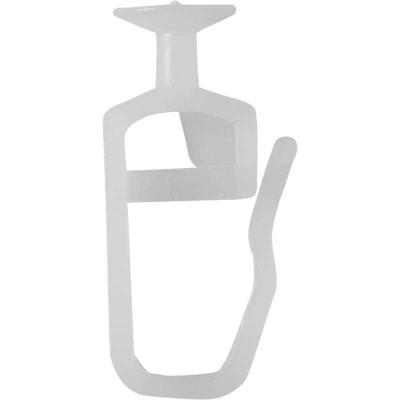 Крючок-гвоздик для пластиковой шины 10шт (ДДА)