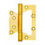 Петля накладная Avers 100*75*2,5-B2-G золото