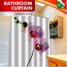 "Шторка для ванной ""Орхидея"" арт.PH06"