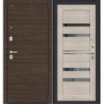 Дверь металлическая Porta S 4.П30 Brownie/Cappuccino Veralinga 880*2050 правая Россия