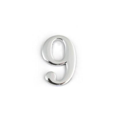 Цифра дверная Apecs DN-01-9-Z-CR