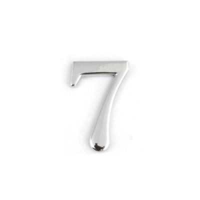 Цифра дверная Apecs DN-01-7-Z-CR