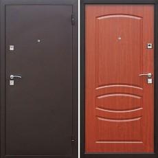 Дверь металлическая Стройгост 7 Итальянский орех 960х2050 правая