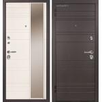 Дверь металлическая Дипломат Роял Вуд черный/Роял Вуд белый 860*2050 левая