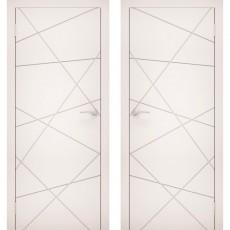 Дверное полотно Эмаль 13 белый ПГ-800
