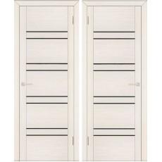 Дверь экошпон Анкона 8 ПО-700 кремовая лиственница