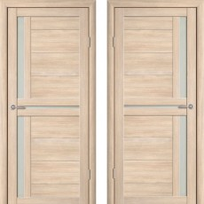 Дверное полотно экошпон Катрин 3 Соренто Капучино ПО-600