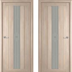 Дверное полотно экошпон Катрин 24 Версаль Капучино ПО-700