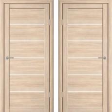 Дверное полотно экошпон Катрин-21 Челси Капучино ПГ-700
