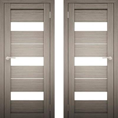 Дверное полотно Амати-12 Дуб дымчатый экошпон ПО-600