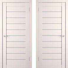Дверное полотно экошпон Анкона 9 Кремовая лиственница ПО-600
