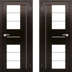 Дверное полотно АМАТИ-22 Венге экошпон ПО-700