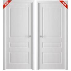 Дверь 3D покрытие Каскад белый ясень, утяжеленная ДГ-700