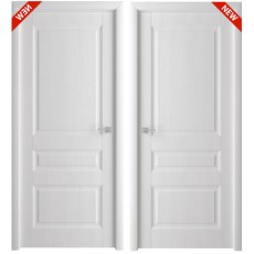 Дверь 3D покрытие Каскад белый ясень, утяжеленная ДГ-900