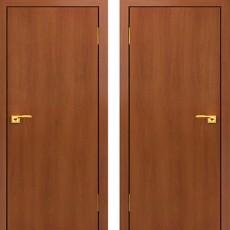 Дверное полотно глухое Итальянский Орех С-01