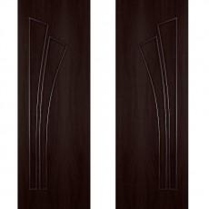 Дверное полотно С-07 венге ПГ-700 (Салют)