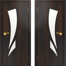 Дверное полотно С-02 Венге ПО-600