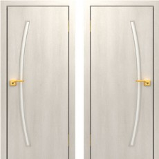 Дверное полотно С-31 беленый дуб ПО-700