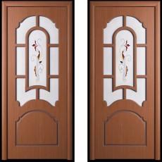 Дверное полотно шпонированное Татьяна Орех ПО-900