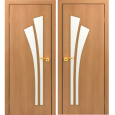 Дверное полотно С-07 миланский орех ПГ-600 (Салют)