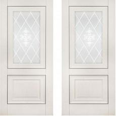 Дверь экошпон Катрин 62 (Классика) Айвори ПО-600