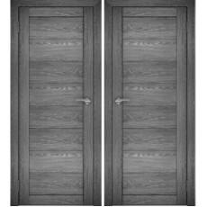 Дверное полотно АМАТИ-00 дуб шале-графит экошпон ПГ-700