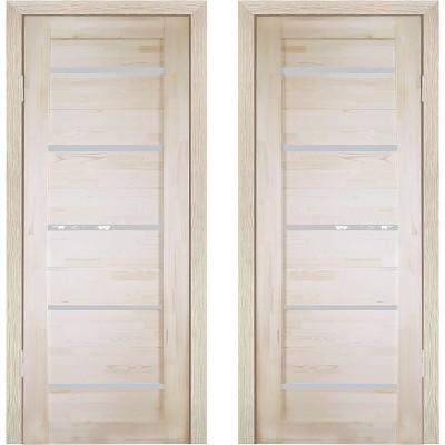 Дверное полотно Решетка ДО-600 массив сосна без сучков Премиум