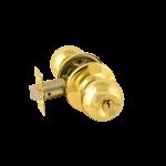 Ручка межкомнатная (золото/ключ/фиксатор) 3Ш-01 (3Ш-01-Э золото/ключ/фикс)