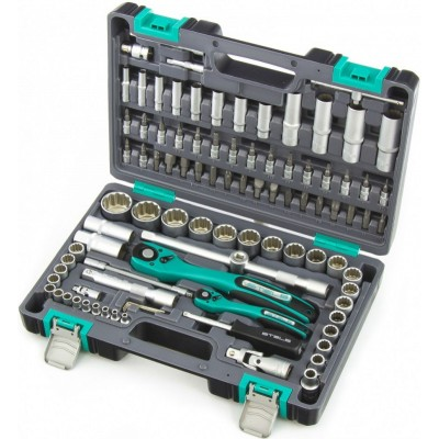 Набор инструментов 94 предмета 12-гранные головки  STELS 14118