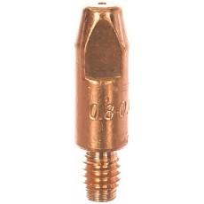 Токосъемный наконечник MIG, М6*28, ф-0,8, Cu ICU0004-08