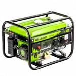Генератор бензиновый БС-3500, 3,2 кВт, 230В, 4-х тактный, 15 л, ручной стартер//Сибртех
