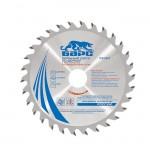 Пильный диск по дереву, 190х30 мм, 48 твердосплавных зубьев БАРС 73372