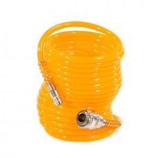 Шланг спиральный воздушный, с быстросъемными соединениями 57002 (5м)