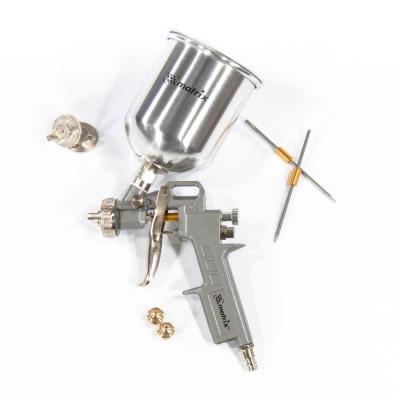 Краскораспылитель пневматический с верхним бачком V-0.6л MATRIX