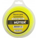 Леска HUTER 3 мм (12 метров) S3012 (звезда) 71/2/2