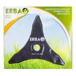 Нож металлический для триммера ERBA 3 зуба, 250*3,0*25.4мм