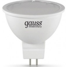 Лампа Gauss LED Elementary MR16 GU5.3 7W 6500K 1/10/100